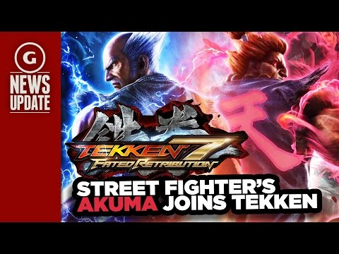 Street Fighter's Akuma Joins Tekken 7 Roster - GS News Update