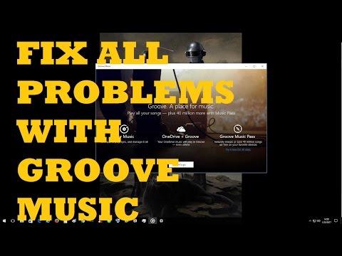 FIX GROOVE MUSIC APP (EVERY ERROR)