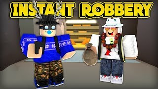 INSTANTLY ROB THE BANK GLITCH! (ROBLOX Jailbreak)