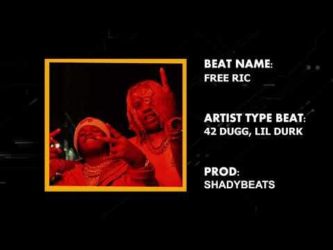 "[Free No Copyright] 42 Dugg, Lil Durk Type beat ""Free Ric"" | Instrumental 2021"