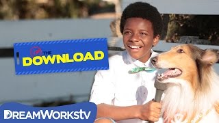 Lassie Meets Her Biggest Fan | THE DREAMWORKS DOWNLOAD