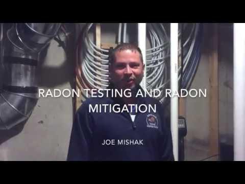 Radon Testing and Radon Mitigation with Joe Mishak from Aardvark Home Inspectors, 260.471.2800