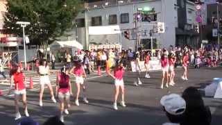 2014年7月26日に名鉄豊田市駅東側一帯で開催された「第46回豊田おいでん...