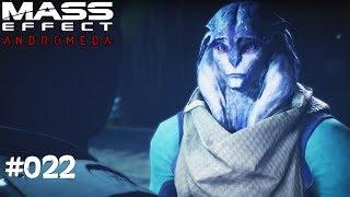 MASS EFFECT ANDROMEDA #022 - Angara-Vertrauen - Let's Play Mass Effect Andromeda Deutsch / German