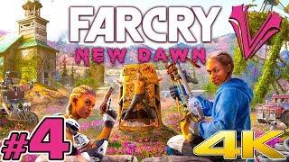 Far Cry New Dawn (04) - Walka z epickim Grizzly! | Vertez | PC 4K 60FPS