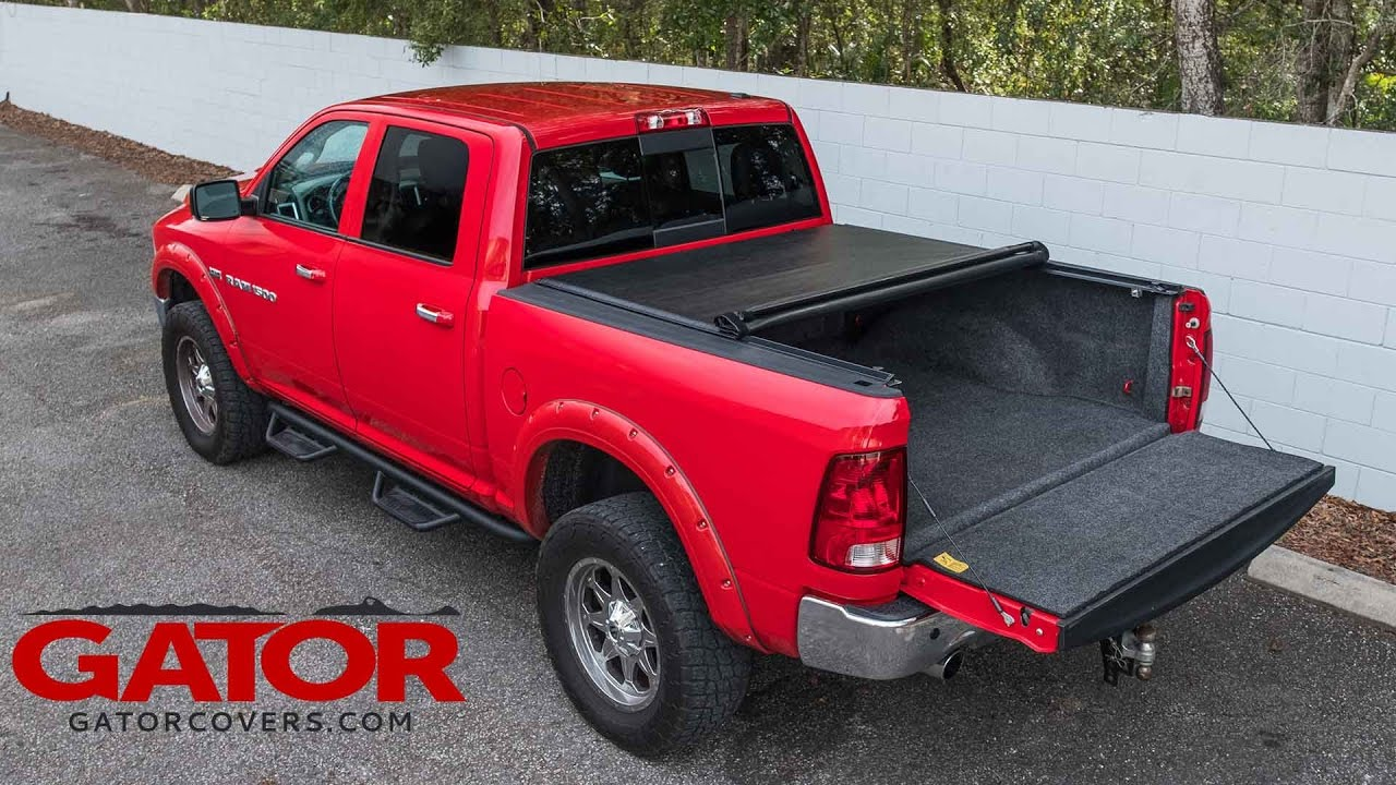 How To Install Gator Roll Up Tonneau Cover Youtube