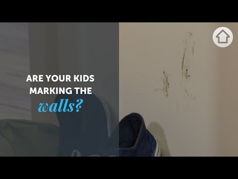 DIY Hacks: How to clean marks off the walls