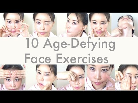 10 Age-Defying Face Exercises | Comment if you want instructions!