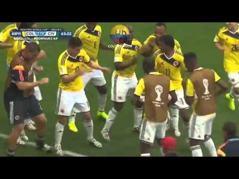 Colombia Vs Costa De Marfil Mundial 2014