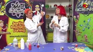 Aprenda a fazer geleca com a Mad Science