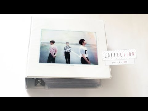♡ BTS COLLECTION ♡ photocard collection ot7 / suga / jungkook / v + signed items [ august 2017 ]