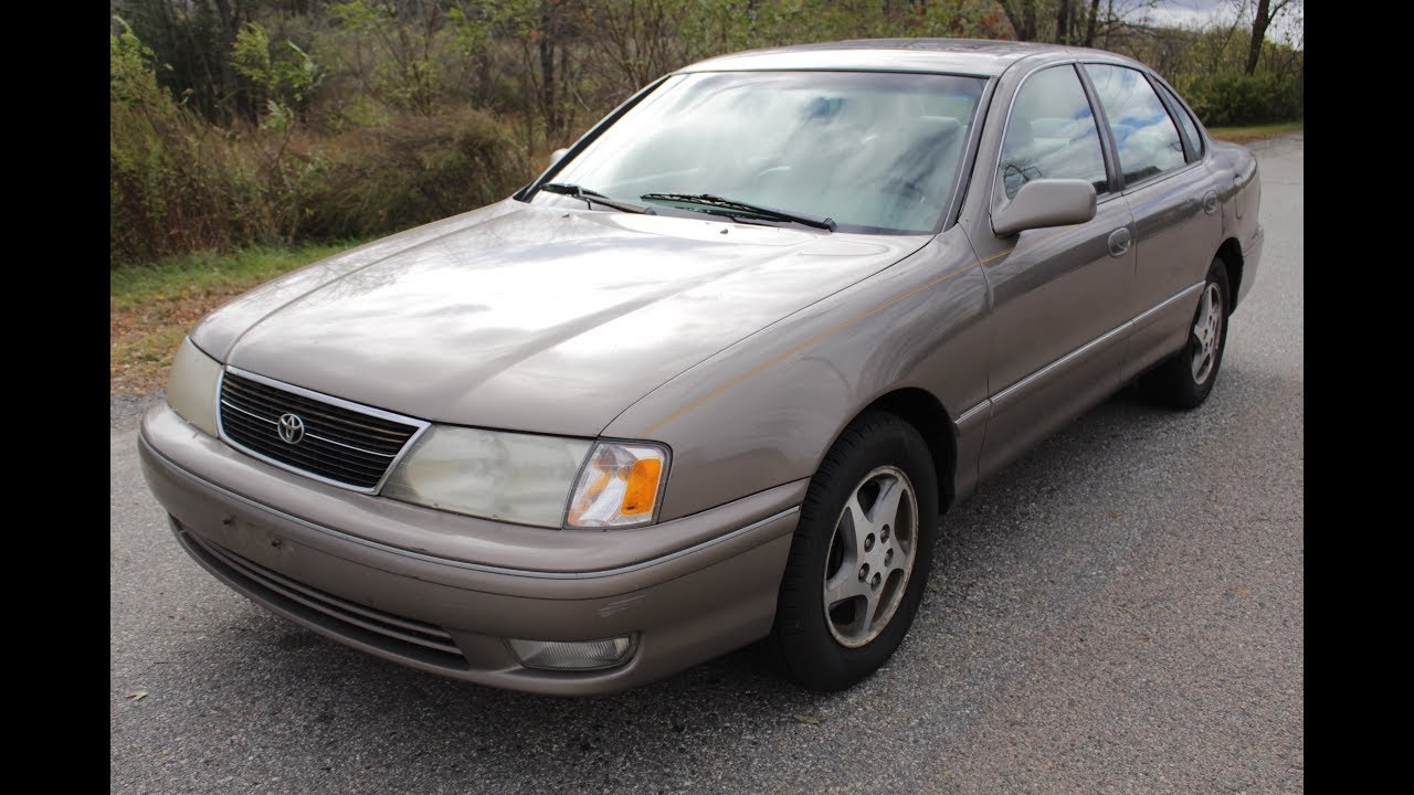 1999 toyota avalon xls 198k miles youtube 1999 toyota avalon xls 198k miles