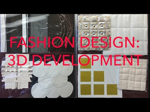 Fashion Design Tutorial 6: 3D Development