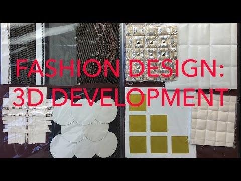 Fashion Design Tutorial 6: 3D Development