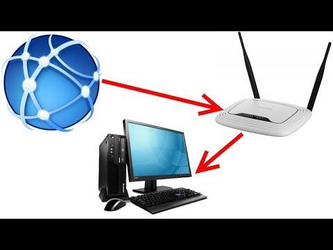 Как подключить интернет через роутер?