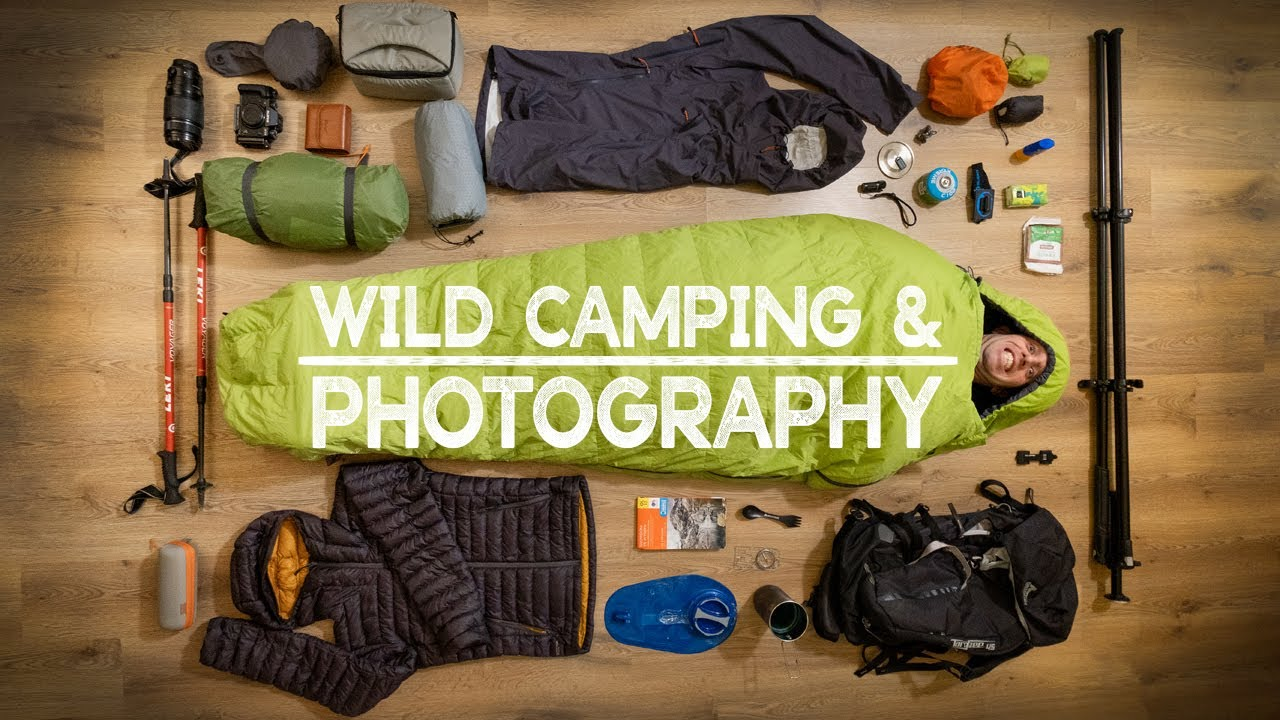 My ESSENTIAL Wild Camping & Photography Equipment - YouTube