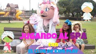 Jugando al Spa para niñas con nuestros amigos de El Club de Kids Play