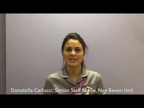 Donatella Carlucci, Senior Staff Nurse, on working in Surgery and Major Trauma at St George