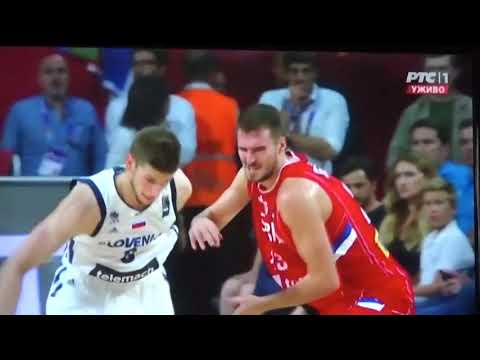 EUROBASKET  2017 SLOVENIA v SERBIA 92:85 Final Game - Refs errors