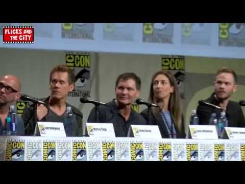 The Following Comic Con 2014 Panel - Kevin Bacon, Shawn Ashmore, Sam Underwood, Jessica Stroup