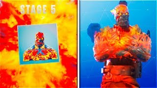 "How To UNLOCK! ""THE PRISONER SKIN STAGE 5"" In Fortnite (Fortnite Snowfall Skin Stage 5)"