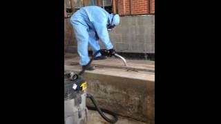 Asbestos Dust vacuuming