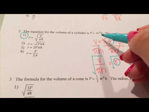 Solving Literal Equations More Practice Youtube