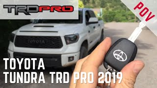 Toyota Tundra TRD Pro 2019 | Encendido