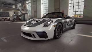 Race the new Porsche 911 Speedster in mobile racing game CSR Racing 2