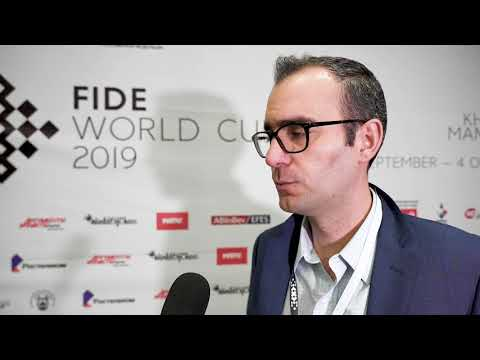 Interview with Leinier Dominguez | FIDE World Cup 2019 | R4, G2 |