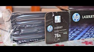 Cartucho de tóner HP 78A Negro para HP LaserJet, HP 78 CE278A