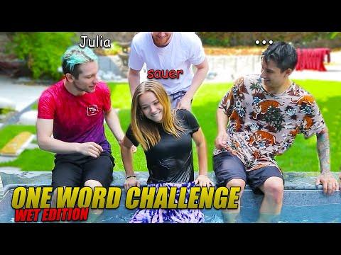 Feuchte One Word Challenge mit JULIA BEAUTX x REZO (POOL Edition)