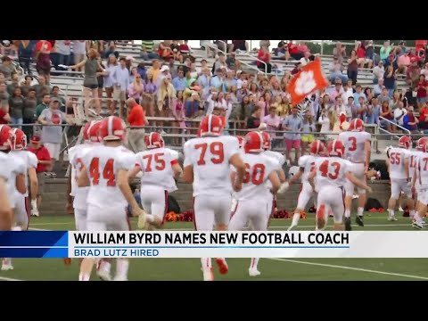 William Byrd High School names Brad Lutz as new head football coach