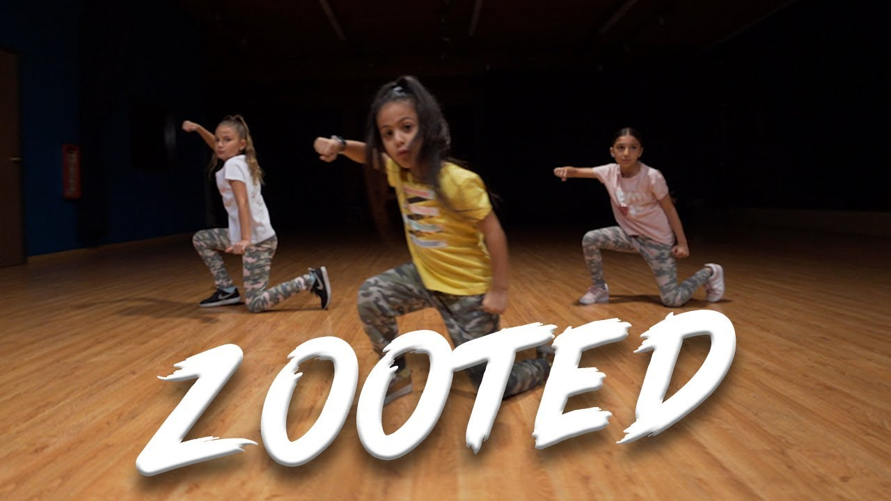 Becky G Zooted Ft French Montana Dance Video Choreography Mihrantv