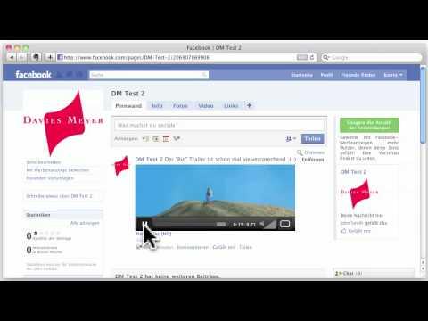 Video Facebook Hochladen