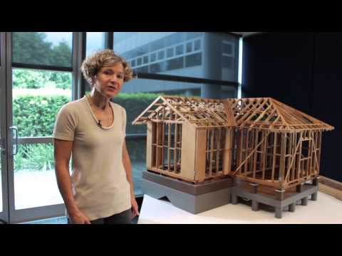 Intro to Timber Framing elements in a simple residential building