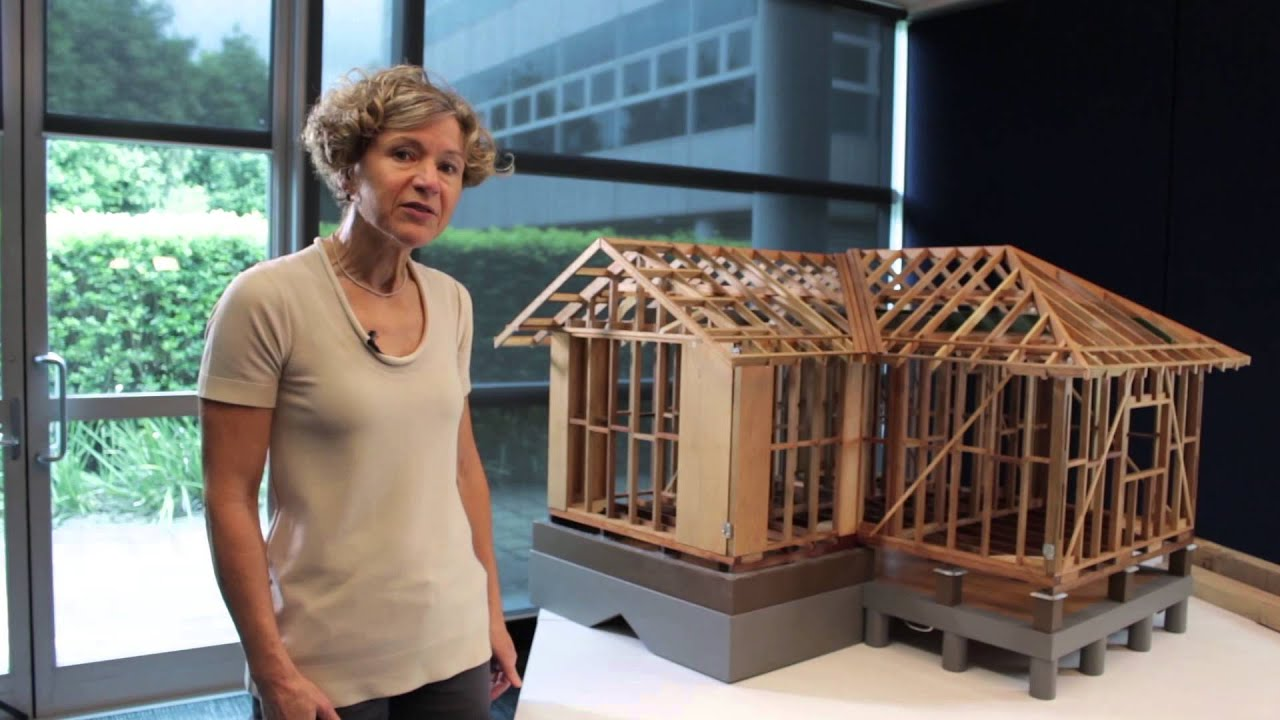 Intro To Timber Framing Elements In A Simple Residential