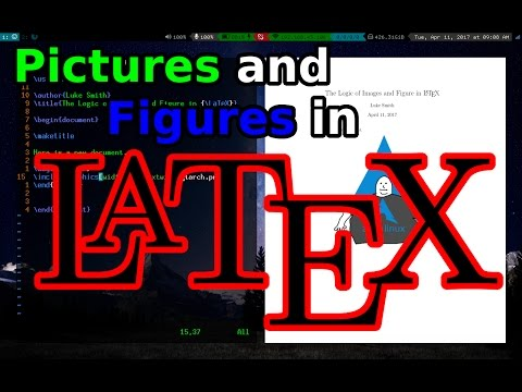 LaTeX: Images, Figures, Wrapping and the Logic Behind Them