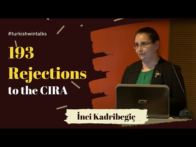 Inci Kadribegic | 193 Rejections to the CIRA