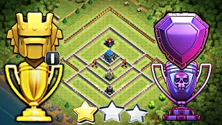TH12 STRONG DEFENSIVE LEGEND BASE 2018 w/PROOF | CoC BEST Th12 Trophy/Legend Base - Anti 2 Star