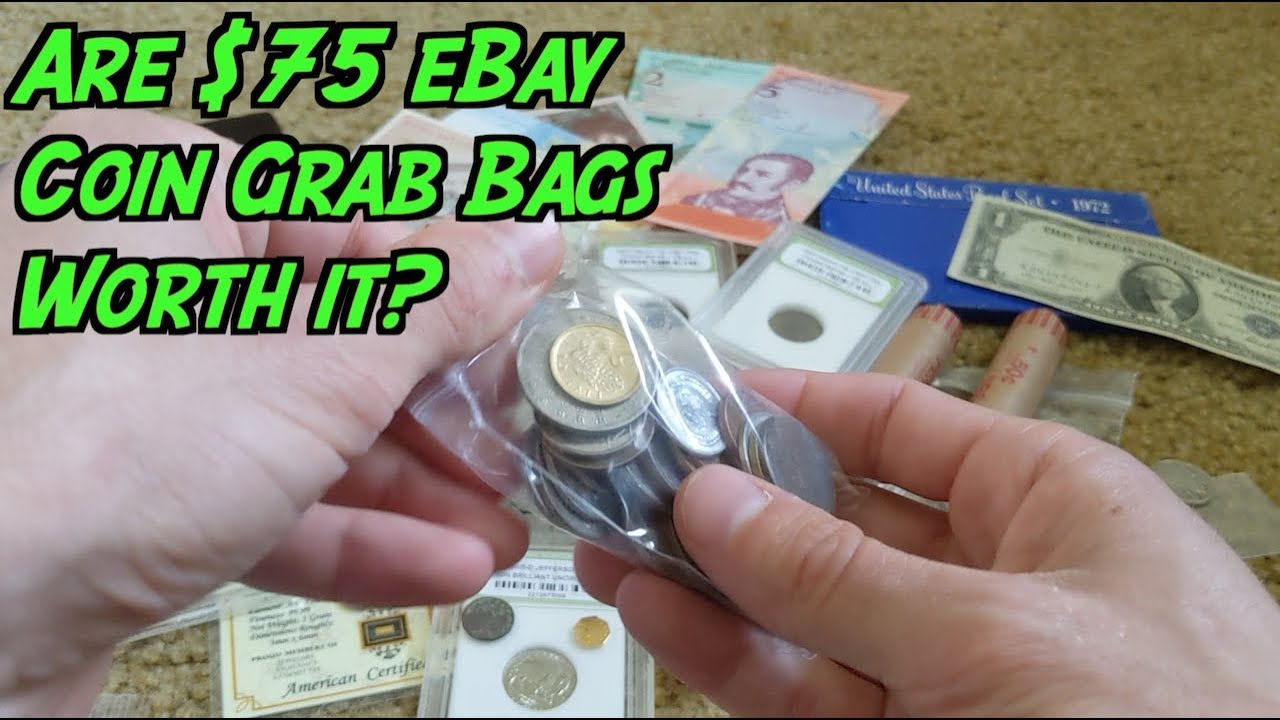 Should You Buy A 75 Ebay Coin Grab Bag See What I Got Youtube