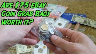 Should You Buy a $75 eBay Coin Grab Bag? See What I Got!