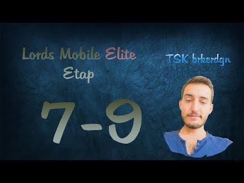Lords Mobile Elite Etap 7-9