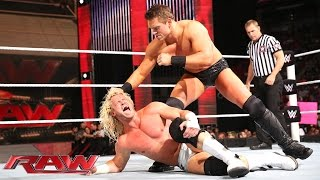 Dolph Ziggler vs. The Miz - Intercontinental Championship Match: Raw, Aug. 18, 2014