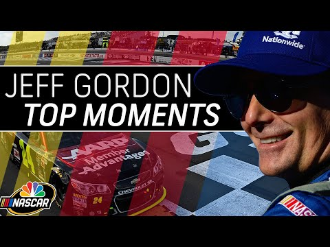 Jeff Gordon's top 10 moments of his Hall of Fame NASCAR career | Motorsports on NBC
