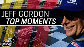 Gambar cover Jeff Gordon's top 10 moments of his Hall of Fame NASCAR career   Motorsports on NBC