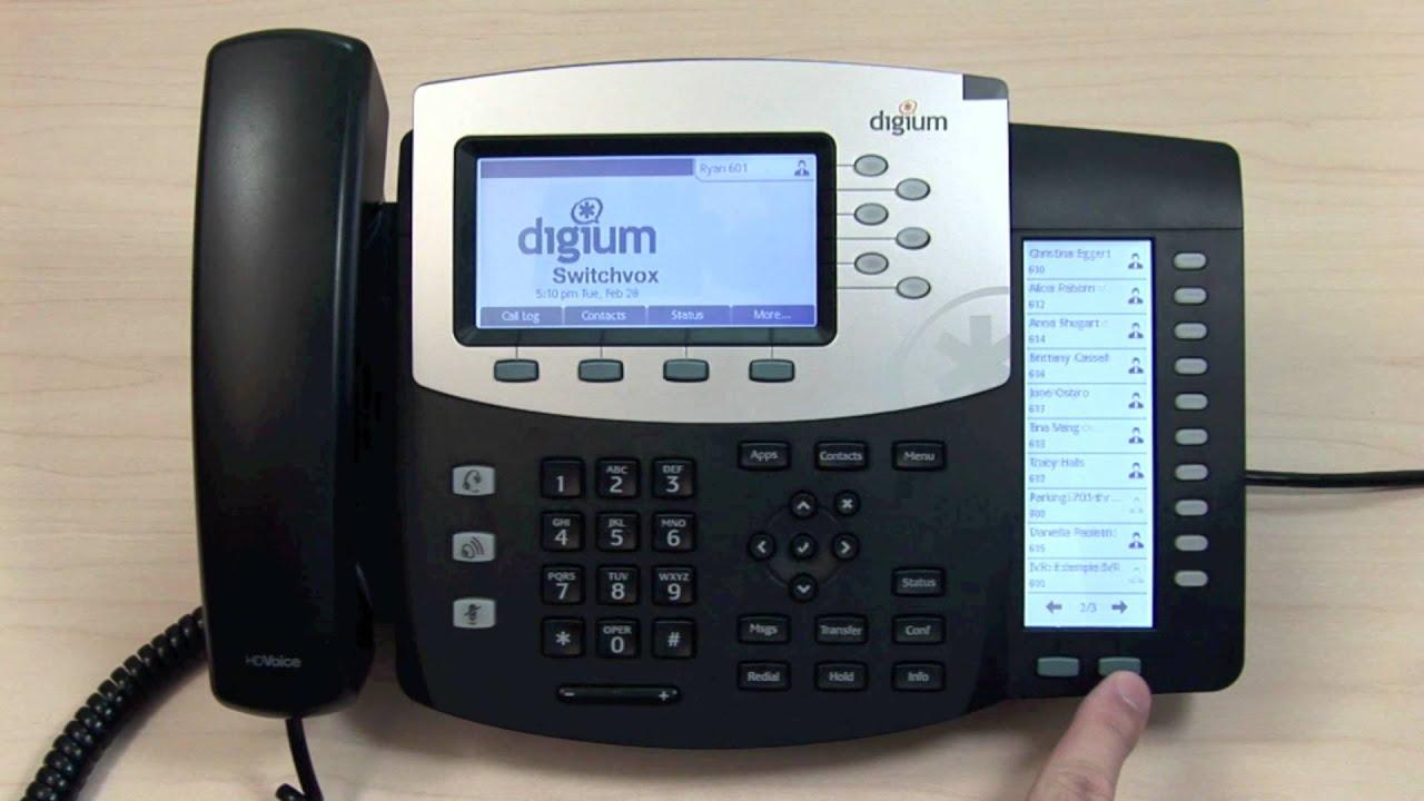 Digium D50 IP Phone Driver