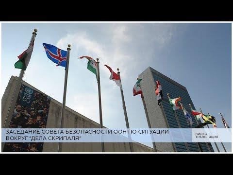 """Заседание СБ ООН по """"делу Скрипаля"""""""