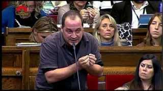 """David Fernàndez: """"A Ciutat Vella hi ha un problema enquistat i persistent de brutalitat policial"""""""