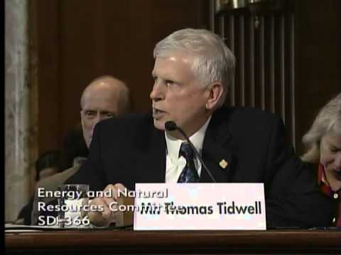 Senator Hoeven: Energy and Natural Resources Committee Hearing with Thomas Tidwell